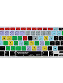 billige Skjermbeskyttere til tabletter-xskn Ableton Live 9 snarveier tastatur hud silikon for MacBook Air 13, macbook pro retina 13/15/17, oss / eu layout