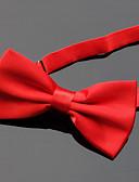olcso Férfi nyakkendők és csokornyakkendők-Férfi Egyszínű Party / Alap - Csokornyakkendő