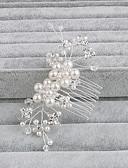 billiga Brudsjalar-Pärla Hair Combs med 1 Bröllop / Speciellt Tillfälle / Casual Hårbonad