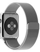 ราคาถูก วง Smartwatch-สายนาฬิกา สำหรับ Apple Watch Series 5/4/3/2/1 Apple สายสแตนเลส Milanese สแตนเลส สายห้อยข้อมือ
