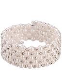 ราคาถูก ชุดเดรสพิมพ์ลาย-สำหรับผู้หญิง สีเงิน ไข่มุก Persona Beads Collection Strand กำไลกลม Silver สร้อยข้อมือเครื่องประดับ เงิน สำหรับ งานแต่งงาน ปาร์ตี้ วันครบรอบ ทุกวัน ที่มา