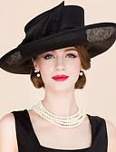 povoljno Kućište iPada-Lan / Tekstil Kentucky Derby Hat / Fascinators / kape s 1 Vjenčanje / Special Occasion / Kauzalni Glava