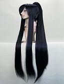 Χαμηλού Κόστους Κάλτσες & Καλσόν-Περούκες για Στολές Ηρώων Συνθετικές Περούκες Περούκες Στολών Ίσιο Ίσια Με αλογοουρά Περούκα Μαύρο Ασημί Κόκκινο Συνθετικά μαλλιά Γυναικεία Ασημί Κόκκινο Μαύρο hairjoy