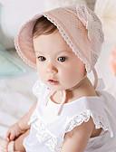 זול ילדים כובעים ומצחיות-מידה אחת לבן / ורוד כובעים ומצחיות תחרה בנים / בנות תינוק / בנדנה