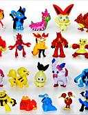 billiga Europeiska kostymer-ficka lite monster 24pcs actionfigurer söt monster mini figurer leksaker bästa jul&födelsedagspresenter Brinquedos 3cm