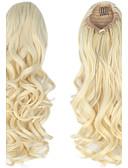 Χαμηλού Κόστους Κάλτσες & Καλσόν-Εξτένσιον με Μικρούς Κρίκους Αλογορουρές Συνθετικά μαλλιά Κομμάτι μαλλιών Hair Extension Σγουρά