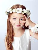 זול ילדים כובעים ומצחיות-מידה אחת כחול / ורוד / חאקי אביזרי שיער אקריליק בנים / בנות ילדים / רצועות ראש