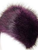 povoljno Ženski šeširi-Žene Životinja Classic Style,Akril-Šešir širokog oboda Jesen Zima Sive boje Crvena Plava / Crna / Bijela / Ljubičasta / Siva