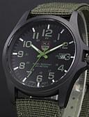 Χαμηλού Κόστους Πολυτελή Ρολόγια-Ανδρικά Στρατιωτικό Ρολόι πεδίο παρακολούθησης Ρολόι κυνηγιού Χαλαζίας Μαύρο / Μπλε Ημερολόγιο Αναλογικό Καθημερινό Αριστο - Πράσινο Μπλε Άσπρο / Μαύρο Ενας χρόνος Διάρκεια Ζωής Μπαταρίας / SSUO 377