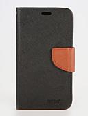 billiga Mobiltelefon kablar-fodral Till Samsung Galaxy S7 edge / S7 / S6 edge plus Plånbok / Korthållare / med stativ Fodral Enfärgad PU läder