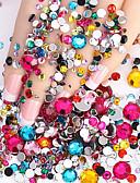 Χαμηλού Κόστους φύλλο Χαρτί-2000 pcs Κοσμήματα Νυχιών τέχνη νυχιών Μανικιούρ Πεντικιούρ Καθημερινά Glitters / Μοντέρνα / Κοσμήματα νυχιών / ABS