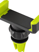 Χαμηλού Κόστους Στηρίγματα και βάσεις τηλεφώνου-αυτοκίνητο γενικής χρήσης / κινητού τηλεφώνου αεραγωγού στήριγμα στηρίγματος βάσης 360 ° περιστροφή καθολική / κινητό τηλέφωνο ABS κάτοχος