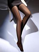 ราคาถูก ถุงเท้าและชุดชั้นใน-สำหรับผู้หญิง Sexy ถุงน่อง - สีพื้น บาง แดง สีชมพู ไวน์ ขนาดเดียว