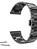 Χαμηλού Κόστους Smartwatch Bands-Παρακολουθήστε Band για Huawei Watch / Withings Activité / Withings Activité Pop Huawei / Withings Κλασικό Κούμπωμα Ανοξείδωτο Ατσάλι Λουράκι Καρπού