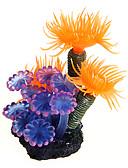 billige Quartz horlogesQuartz-Fisketank Akvarium Dekorasjon Fisk Akvarium Pyntegjenstander Korall Vannplante Oransje Dekorasjon Harpiks Plast
