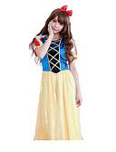 Χαμηλού Κόστους Λουλουδάτα φορέματα για κορίτσια-Πριγκίπισσα Παραμυθιού Γυναικεία Χριστούγεννα Απόκριες Γιορτές / Διακοπές Πολυεστέρας Γυναικεία Αποκριάτικα Κοστούμια Μονόχρωμο
