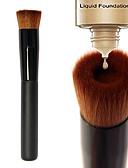 halpa Pusero-ammattilainen Makeup Harjat Alusvoidesivellin 1pcs Kannettava Ekologinen Ammattilais Rajoittaa bakteereja Synteettinen tukka / Keinoharjainen sivellin Puu Meikkisiveltimet varten