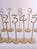 ราคาถูก ชุดโต๊ะกลาง-ไม้ ชิ้นศูนย์ตาราง - ที่ไม่ใช่ส่วนบุคคล Placecard Holders 10 pcs ฤดูใบไม้ผลิ / ฤดูร้อน / ตก