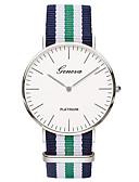 ราคาถูก นาฬิกาสำหรับผู้ชาย-สำหรับผู้หญิง นาฬิกาข้อมือ นาฬิกาอิเล็กทรอนิกส์ (Quartz) ฟ้า / สีสัน ระบบอนาล็อก คลาสสิก ไม่เป็นทางการ แฟชั่น ที่เรียบง่าย - ฟ้า สีชมพู สีแดงเข้ม หนึ่งปี อายุการใช้งานแบตเตอรี่ / สแตนเลส