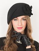 povoljno Ženski šeširi-Vuna Kentucky Derby Hat / kape s 1 Vjenčanje / Special Occasion / Kauzalni Glava