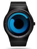 Χαμηλού Κόστους Μηχανικά Ρολόγια-SINOBI Ανδρικά Αθλητικό Ρολόι Ρολόι Καρπού Χαλαζίας Ανοξείδωτο Ατσάλι Μαύρο 30 m Ανθεκτικό στο Νερό Ανθεκτικό στα Χτυπήματα Αναλογικό Πολυτέλεια Καθημερινό Μοναδικό Watch Creative Απλός ρολόι -