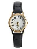 ราคาถูก นาฬิกาดิจิตอลสตรี-สำหรับผู้หญิง นาฬิกาข้อมือ นาฬิกาอิเล็กทรอนิกส์ (Quartz) PU Leather ดำ นาฬิกาใส่ลำลอง / ระบบอนาล็อก สุภาพสตรี ไม่เป็นทางการ แฟชั่น - สีดำ หนึ่งปี อายุการใช้งานแบตเตอรี่ / Tianqiu 377