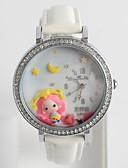 Χαμηλού Κόστους Γυναικεία περιτύλιγμα & κασκόλ-Γυναικεία Μοδάτο Ρολόι Diamond Watch Χαλαζίας σιλικόνη Μαύρο / Λευκή / Μπλε / Αναλογικό κυρίες Καθημερινό Κινούμενα σχέδια - Μπλε Ροζ Άσπρο / Κόκκινο