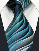 olcso Férfi nyakkendők és csokornyakkendők-Férfi Mértani / Színes / Jacquardszövet Alap Party / Munkahelyi - Nyakkendő