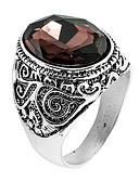 billiga Blus-Ring tumring Kristall Kaffe Kristall Legering Asiatisk Dagligen Casual Smycken Hantverkare