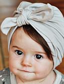 povoljno Kompletići za bebe-Dijete koje je tek prohodalo Dječaci / Djevojčice Pamuk Kape i šeširi Blushing Pink / Sive boje / Crvena One-Size / Kosa Kravata
