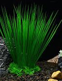 Χαμηλού Κόστους Ανδρικά μπλουζάκια και φανελάκια-Ενυδρείο ψαριών Διακόσμηση Ενυδρείου Υδρόβιο φυτό Τεχνητά φυτά Μη τοξικό και χωρίς γεύση Πλαστική ύλη