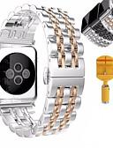 povoljno Kvarcni satovi-Pogledajte Band za Apple Watch Series 5/4/3/2/1 Apple Leptir Buckle Nehrđajući čelik Traka za ruku