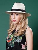 billige Hatter til damer-Kurvevarer Hatter med 1 Bryllup / Spesiell Leilighet / Avslappet Hodeplagg