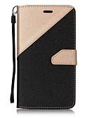 povoljno Maske za mobitele-Θήκη Za Asus Asus Zenfone 3 ZE520KL (5.2) / Asus ZenFone 3 (ZE552KL)(5.5) Novčanik / Utor za kartice / sa stalkom Korice Jednobojni Tvrdo PU koža