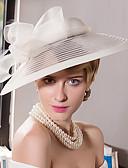 ราคาถูก ที่คาดผมสตรี-ขนนก หูฟัง-งานแต่งงาน โอกาสพิเศษ ที่มา ที่คาดผมแฟนตาซี หมวก 1 ชิ้น