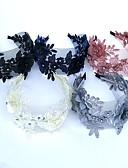 baratos Vestidos Baile Formatura-Renda / Strass Headbands / Flores / Decoração de Cabelo com Floral 1pç Casamento / Ocasião Especial Capacete