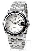 זול שעונים-בגדי ריקוד גברים שעוני אופנה שעון מכני Chinese קווארץ אוטומטי נמתח לבד סגסוגת להקה כסף