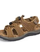 povoljno Zaštitne folije za iPhone-Muškarci Koža Proljeće / Ljeto Udobne cipele Sandale Obuća za rijeke Svjetlosmeđ