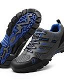 povoljno Muški šalovi-Muškarci Sneakers Casual cipele Obuća za planinarenje Prozračnost Anti-Slip Cushioning Podesan za nošenje Trčanje Pješačenje Slobodno vrijeme Sport Proljeće Ljeto Jesen Braon purpurna boja Vojska