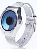 Χαμηλού Κόστους Μηχανικά Ρολόγια-Ανδρικά Ρολόι Καρπού Χαλαζίας Μέταλλο Ασημί Δημιουργικό Μεγάλο καντράν Αναλογικό Καθημερινό Μοντέρνα Μοναδικό Watch Creative Απλός ρολόι - Μπλε Απαλό Κίτρινο Φούξια Ενας χρόνος Διάρκεια Ζωής Μπαταρίας