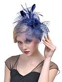 ราคาถูก หมวกสตรี-ตูเล่ / ขนนก / สุทธิ fascinators / ฮารด์แวร์ กับ ดอกไม้ 1pc งานแต่งงาน / โอกาสพิเศษ หูฟัง