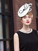 povoljno Party pokrivala za glavu-Poliester Kentucky Derby Hat / Trake za kosu s 1 Vjenčanje / Special Occasion / Vanjski Glava