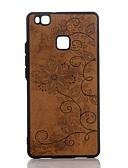 ราคาถูก เคสสำหรับ iPhone-Case สำหรับ หัวเว่ย P9 Lite / Huawei P10 Plus / P10 / Huawei P9 Lite Embossed ปกหลัง Mandala Hard หนัง PU