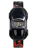 billige Barneklokker-SKMEI Armbåndsur Digital Watch Digital Silikon Kalender Kreativ Kul Digital Mote - Gul Rød Blå To år Batteri Levetid / Maxell626 + 2025