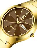 cheap Baby & Kids-Men's Wrist Watch Quartz Calendar / date / day Alloy Band Analog Charm Fashion Black / Silver / Gold - Gold Black Silver