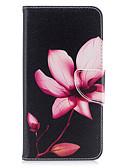 olcso iPhone tokok-Case Kompatibilitás iPhone 7 / iPhone 7 Plus / iPhone 6s Plus Pénztárca / Kártyatartó / Állvánnyal Héjtok Virág Kemény PU bőr mert iPhone SE / 5s