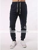 ราคาถูก กางเกงผู้ชาย-สำหรับผู้ชาย พื้นฐาน / Street Chic ขนาดพิเศษ ทุกวัน Sport ไปเที่ยว แนบเนื้อ / Jogger / รีแล็กซ์ กางเกง - ลายบล็อคสี สลับ สีดำ เทาอ่อน เทาเข้ม M L XL