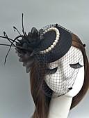 ราคาถูก หมวกสตรี-ตูเล่ Kentucky Derby Hat / fascinators / หมวก กับ ขนนก 1 งาน / ปาร์ตี้ หูฟัง