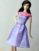 povoljno Maske za mobitele-Haljina za lutke Ležerne prilike Za Barbie Organza Terilen Haljina Za Djevojka je Doll igračkama