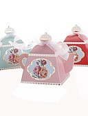 povoljno Praktični poklončići-25pcs kreativni čajnik vjenčanje naklonost kutija slatkiša okvir zabavu ukrasa